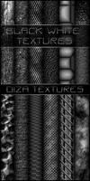 Black white textures