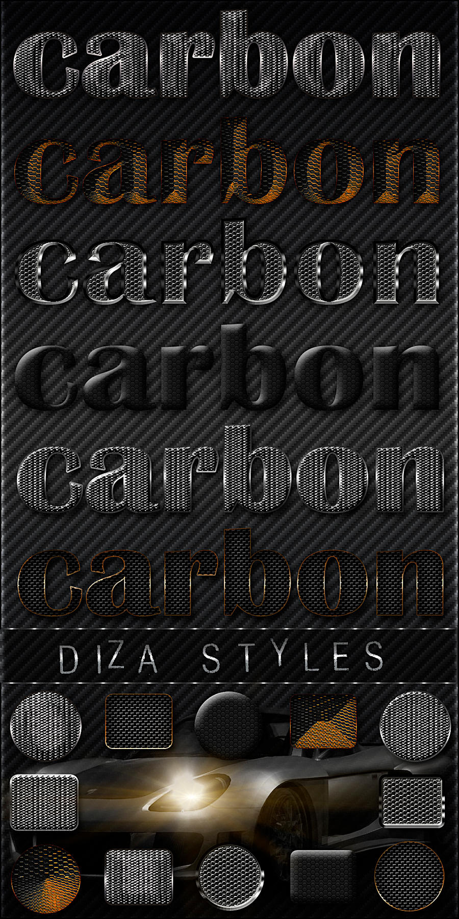 Carbon styles - 4 by DiZa-74