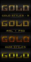 Gold styles - 5