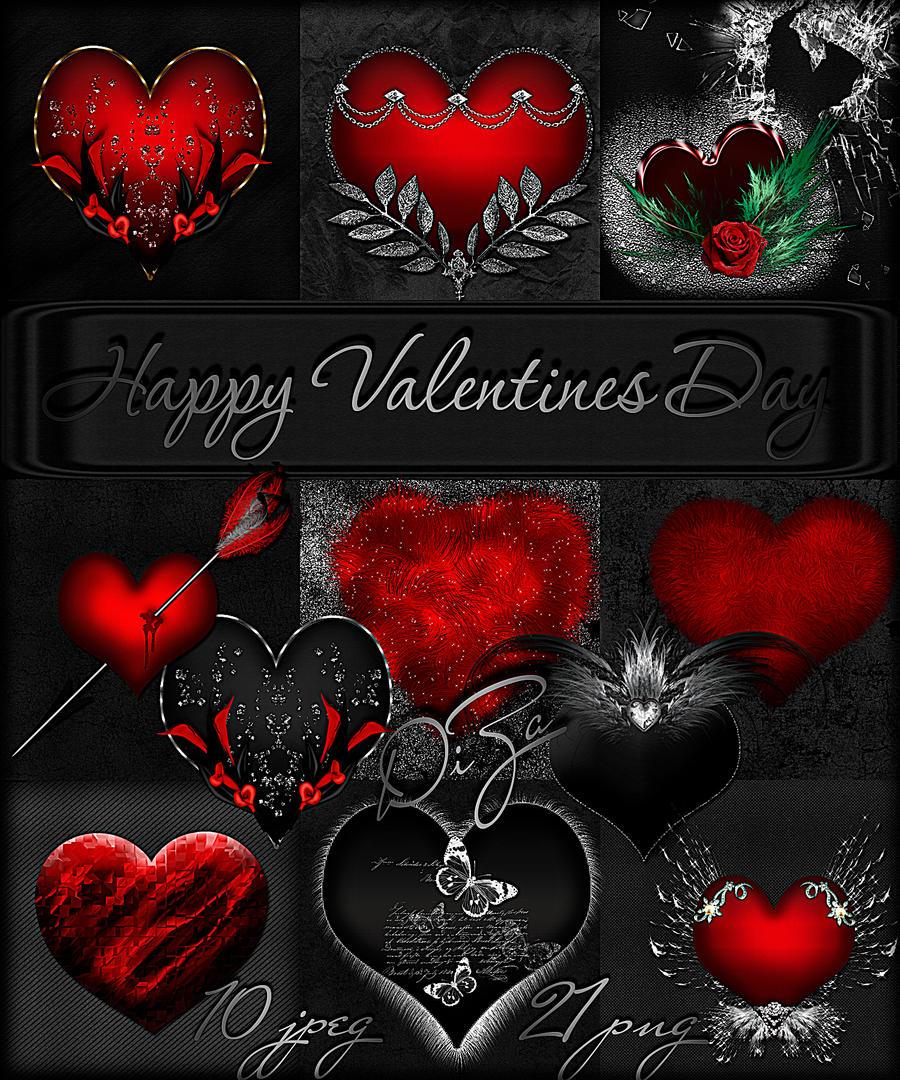 ... Scrap Kit Happy Valentines Day By DiZa 74