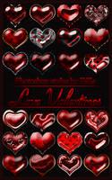 Photoshop styles 'Love Valentines' by DiZa-74