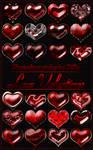 Photoshop styles 'Love Valentines'