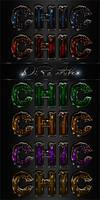 Chic Photoshop styles
