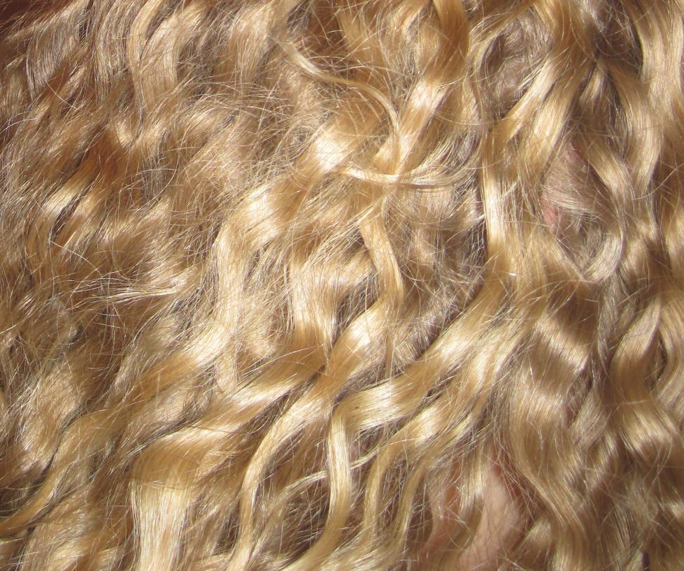 Black hair texture