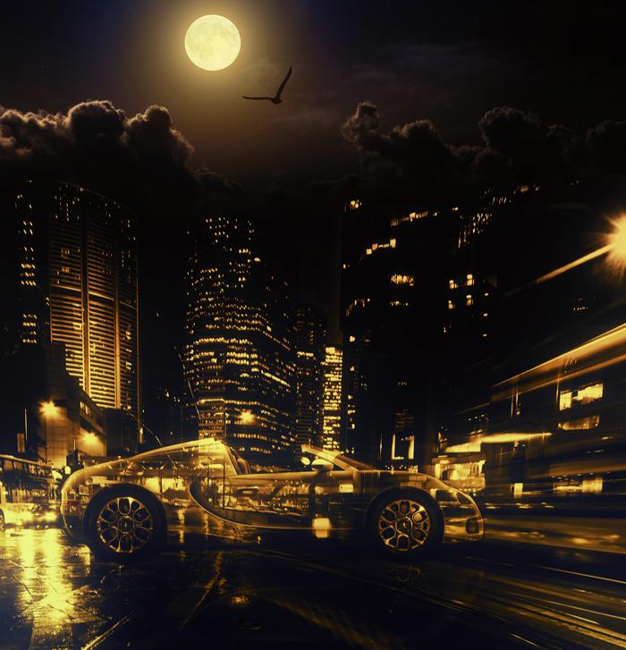 Transparent car by DiZa-74