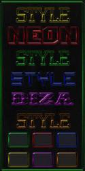 NEON STYLES by DiZa-74
