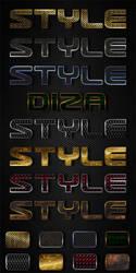 Beaded metal styles by DiZa-74