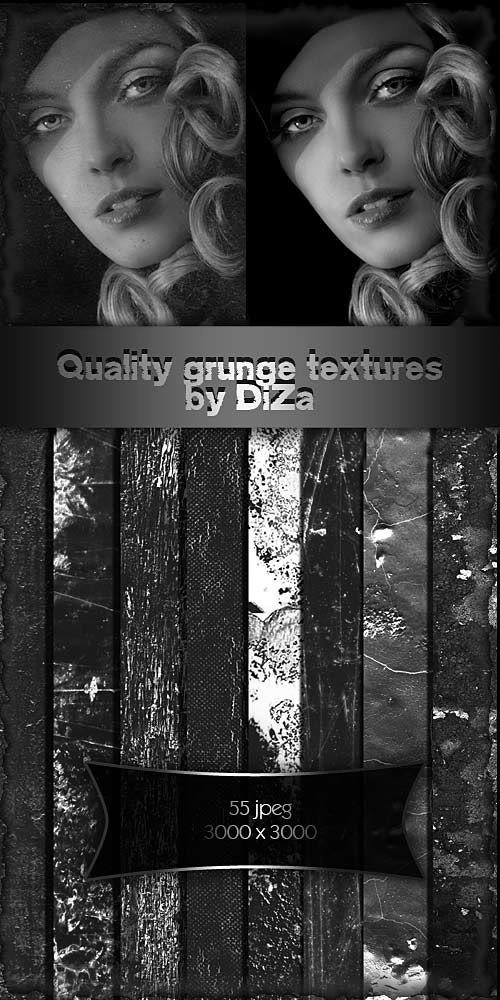 Quality grunge textures by DiZa-74