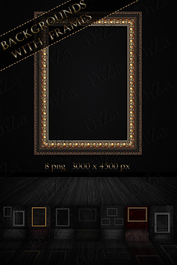 Backgrounds with frames