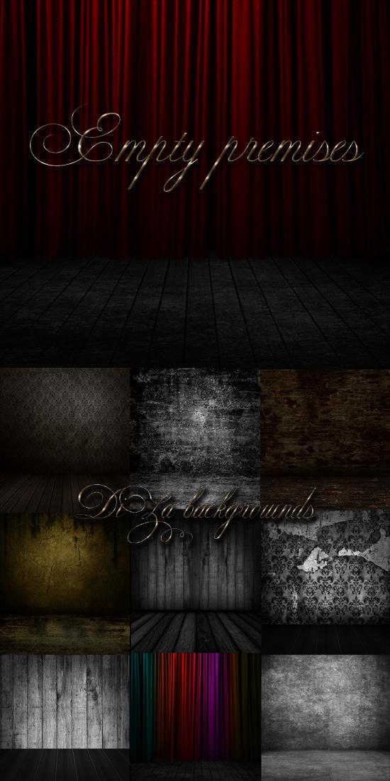 Backgrounds ~ Empty premises~ by DiZa-74