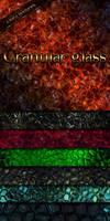 Granular glass textures