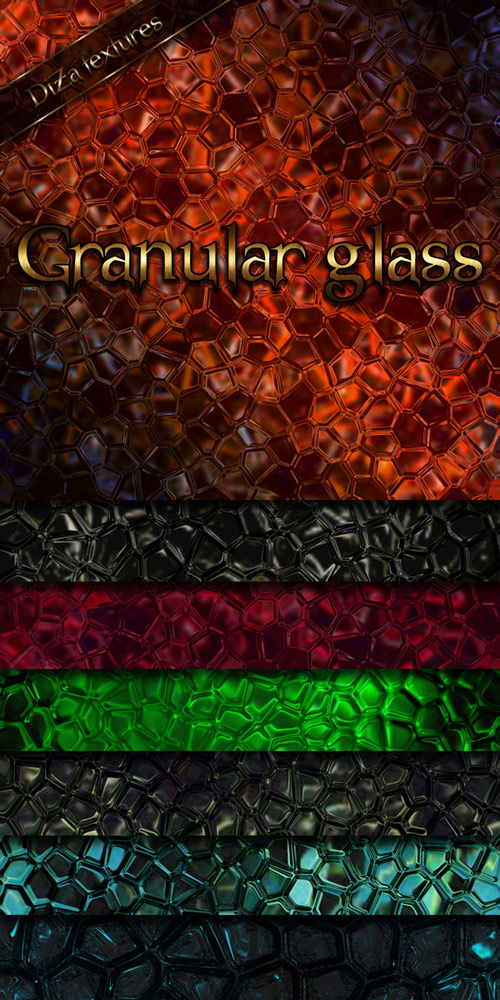 Granular glass textures by DiZa-74