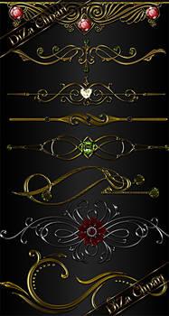 Decorative ornament for design