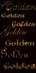 Styles for Photoshop Noble gold by DiZa-74