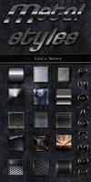 Metal styles for design