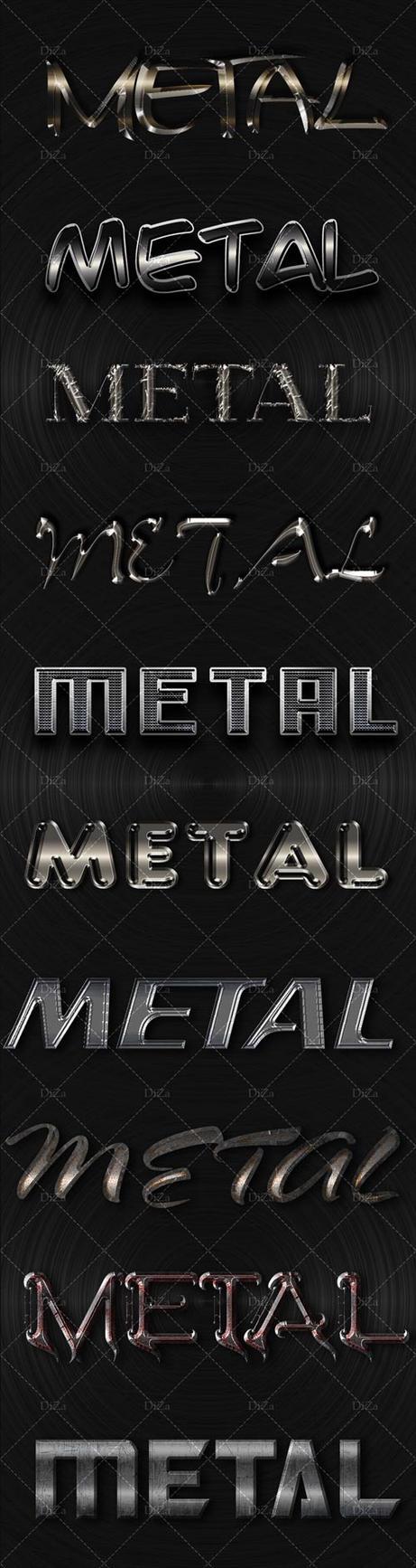 10 modern metal styles by DiZa-74