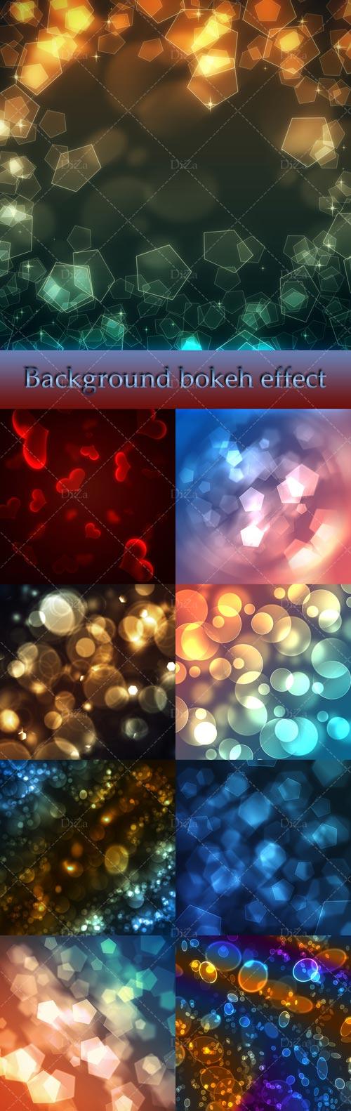 Background bokeh effect by DiZa-74