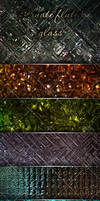 Ornate fluted glass textures by DiZa-74