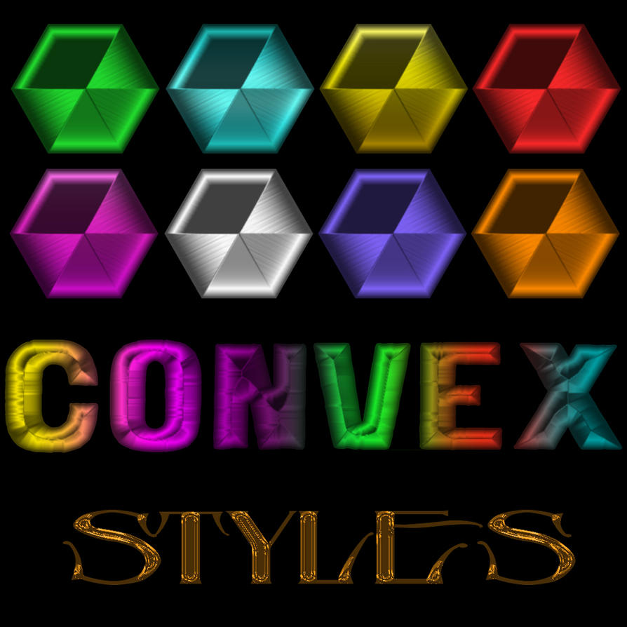 Convex styles by DiZa-74