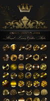Royal luxury golden styles