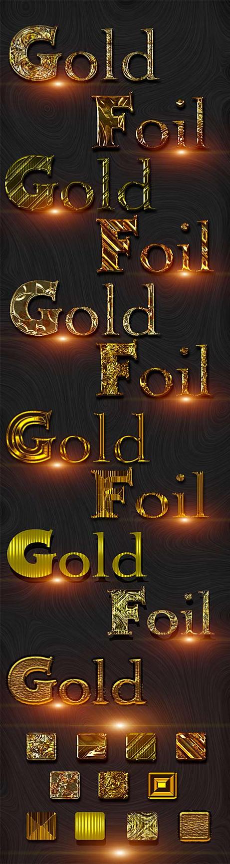 Golden Foil styles by DiZa-74