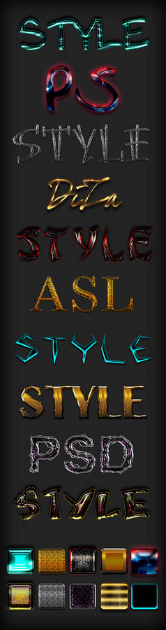 Text styles Mix - 74