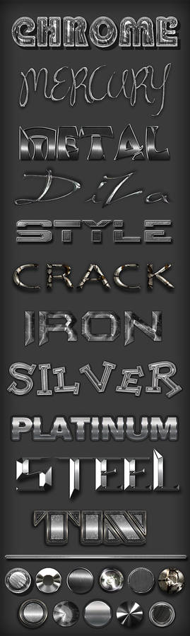 Metal different styles