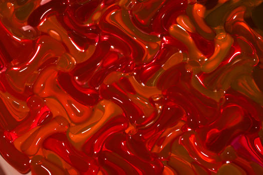 Red glass texture