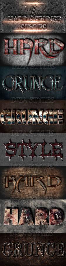 Hard grunge styles