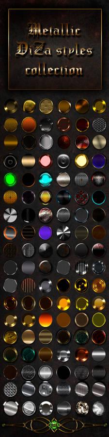Metallic styles collection