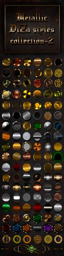 Metallic styles collection - 2