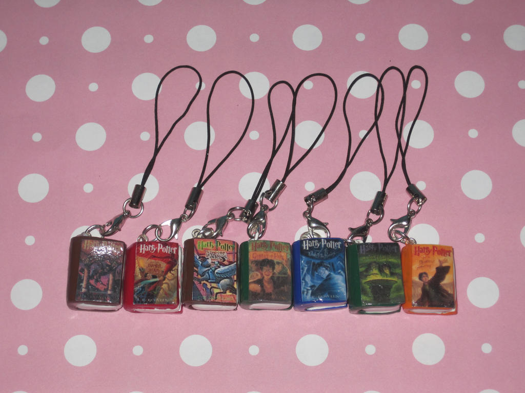 Must see Wallpaper Harry Potter Pink - harry_potter_book_series_cell_phone_charms_by_ichigoluv-d5sxb45  2018_715644.jpg