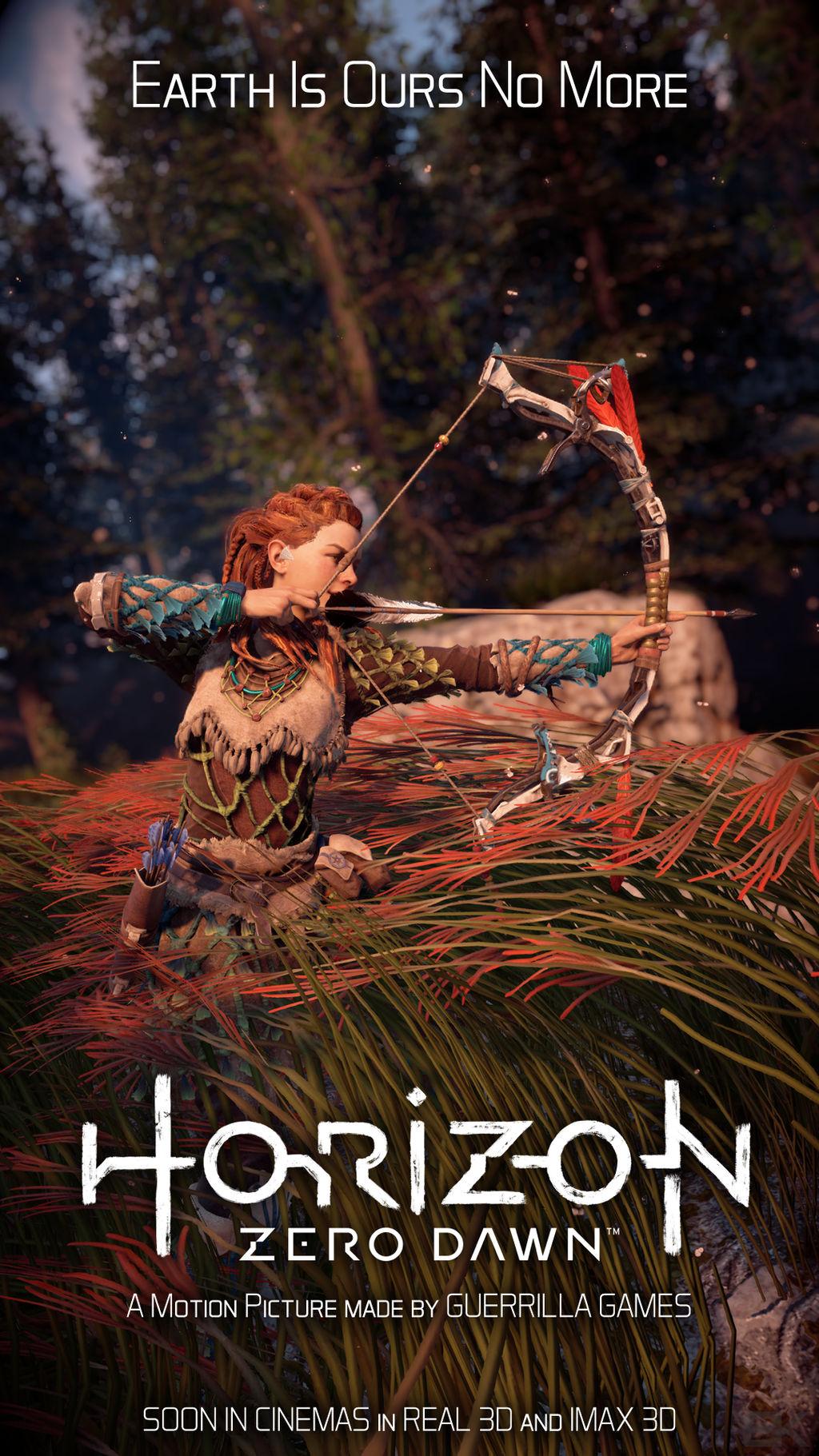 Horizon Zero Dawn Movie Poster 1 By Bk1606 On Deviantart