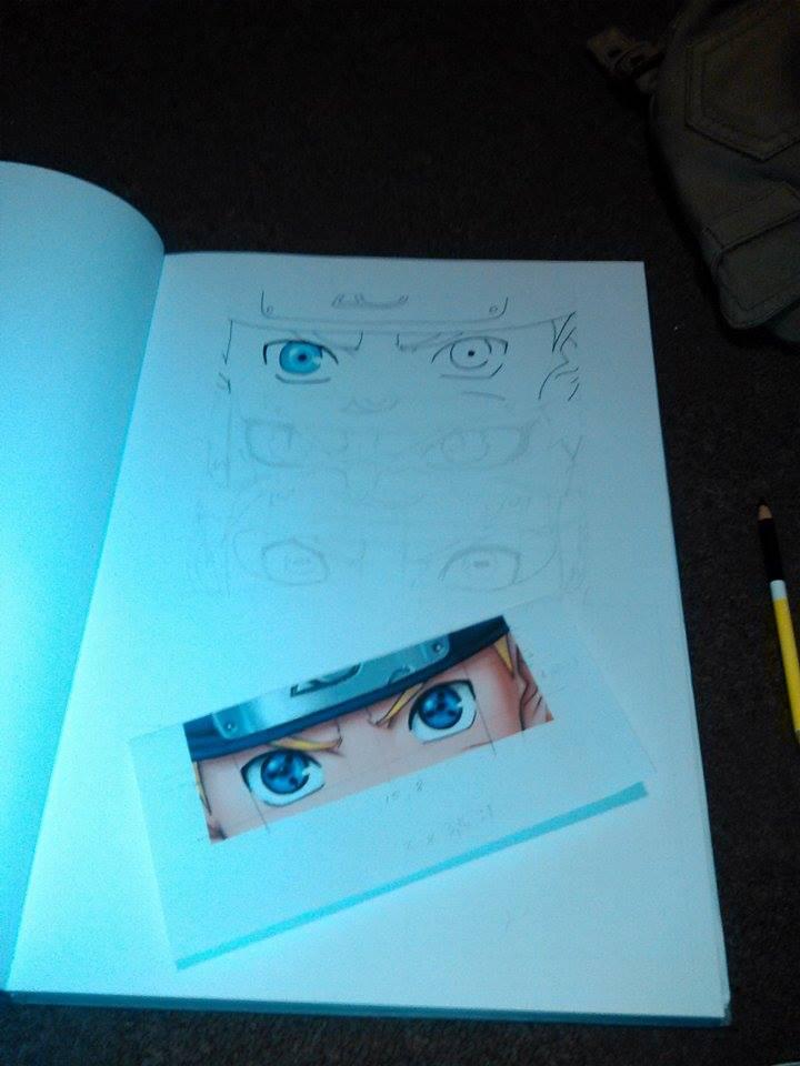 Naruto Eyes In Progress by SashaKpp
