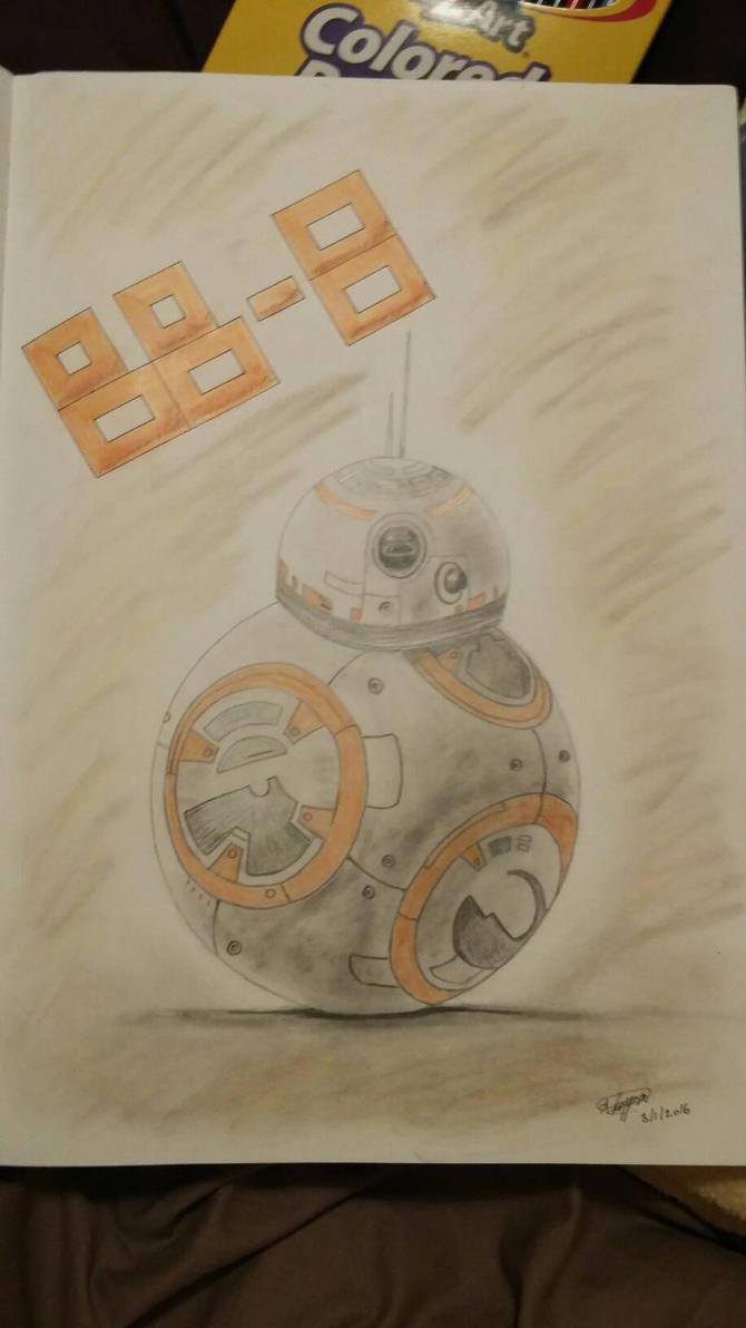 BB-8 by SashaKpp