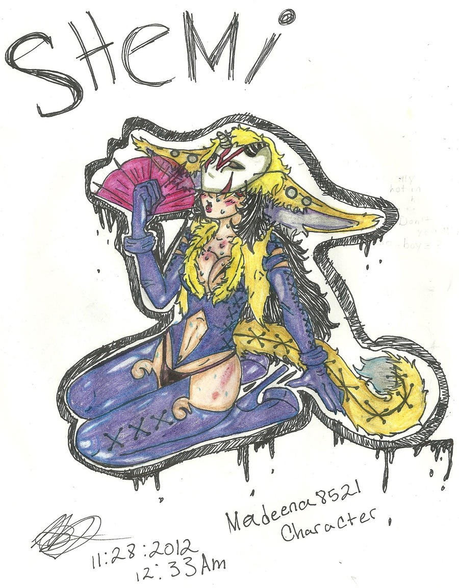 Art trade HERE'S Shemi SEXXXYYYY by R-E-D-13