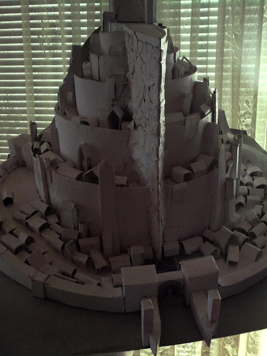 Minas Tirith model by ChristianTsvetanov