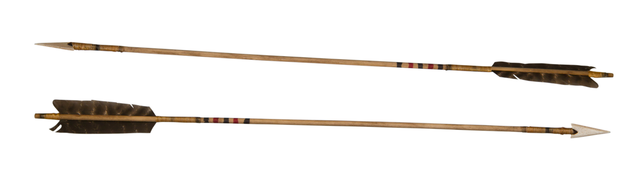 Two Old Indian Arrows