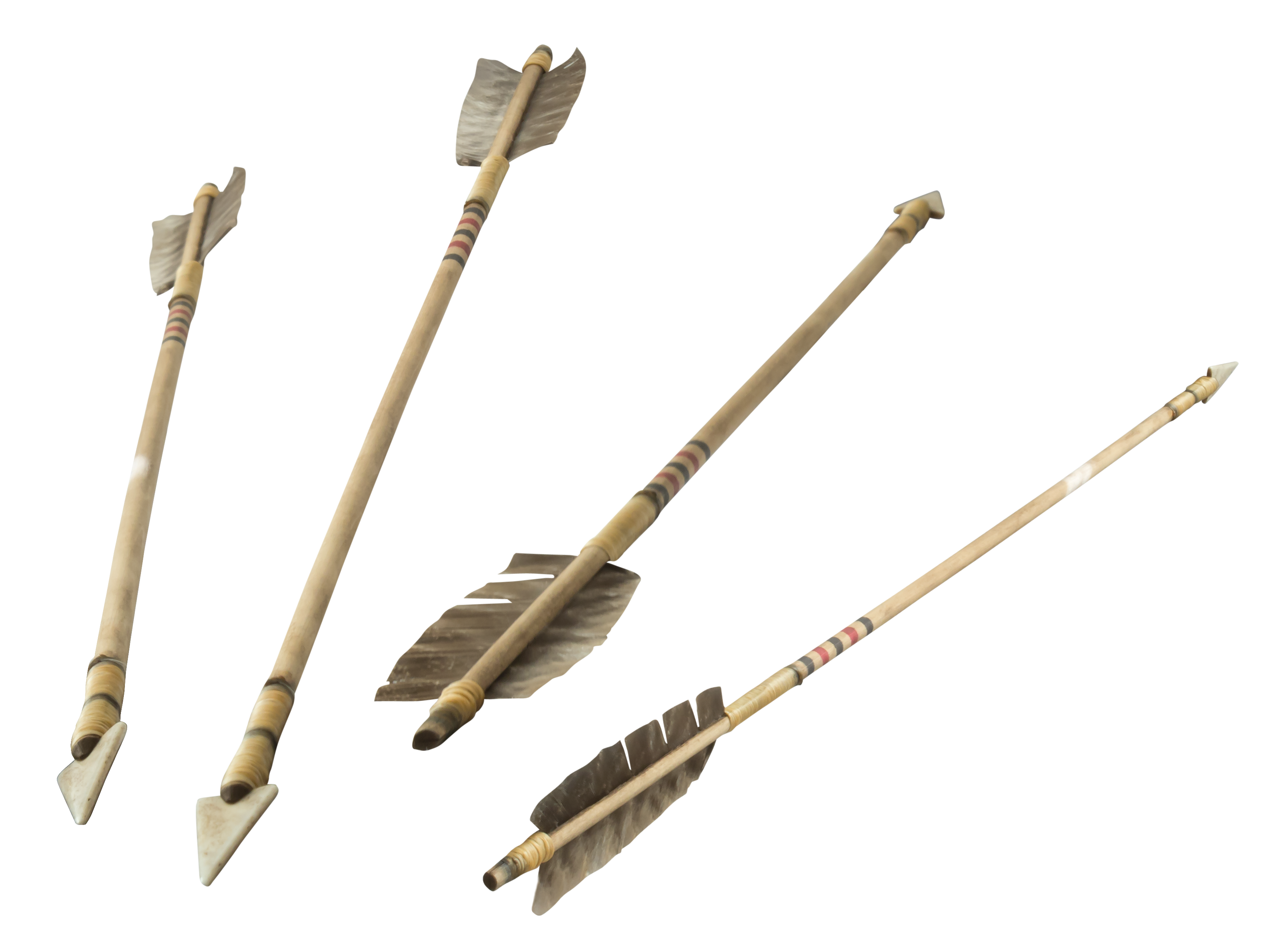 4 more old indian arrows