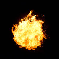 20 Fireball of Flame Fire by Archangelical-Stock