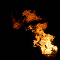 37 Fireball of Flame Fire by Archangelical-Stock
