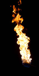 44 Fireball of Flame Fire by Archangelical-Stock