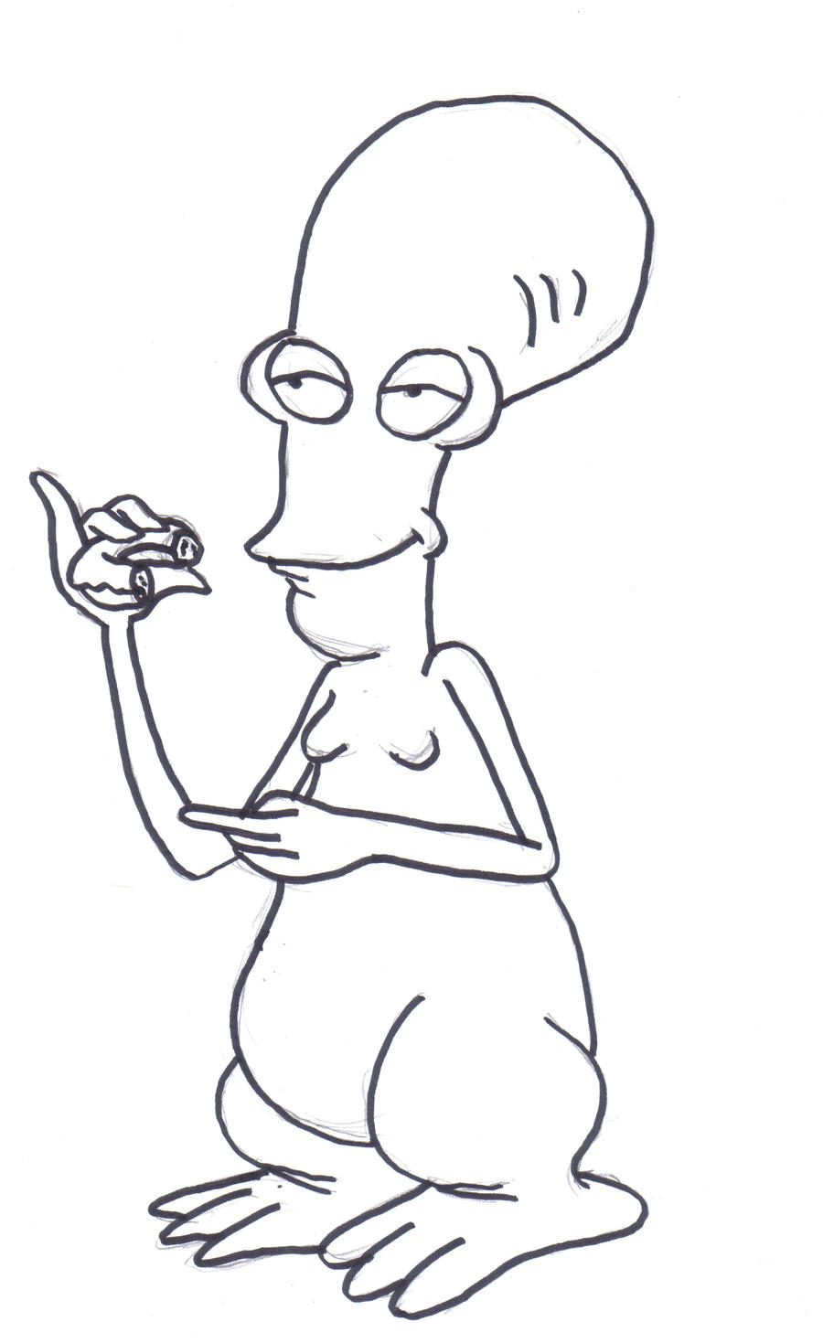 ROGER FROM AMERICAN DAD by und3adh3r0 on DeviantArt