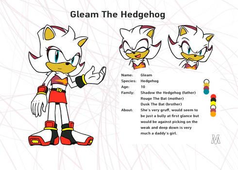 Request _ Gleam The Hedgehog _ Ref