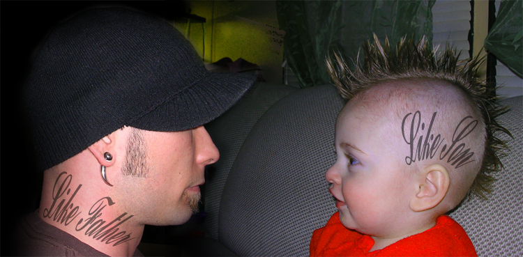 Like Father Like Son Tattoo Top 50 Best Father Son Tattoos For Men