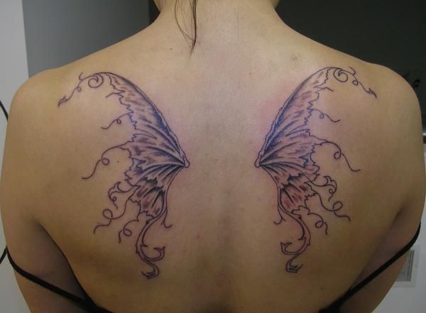Fairy Wings by Derek-GothicTattoo