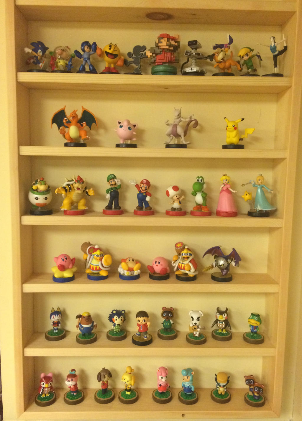 My Amiibo Collection by Hiyukee