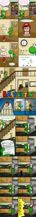Babysittin' Page 1