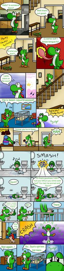 Babysittin' Page 2
