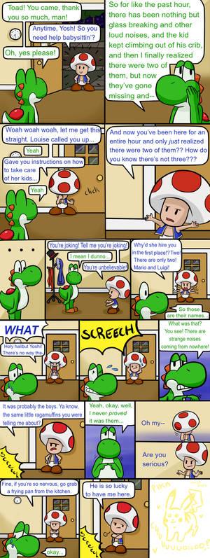 Babysittin' Page 8